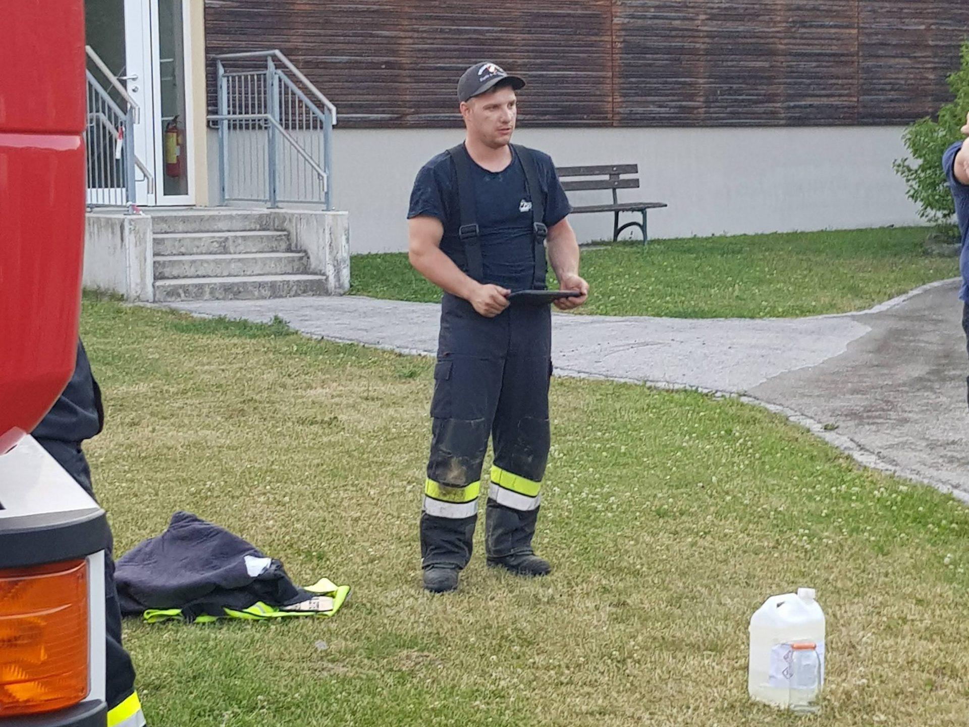 Übung: Giftgas Austritt